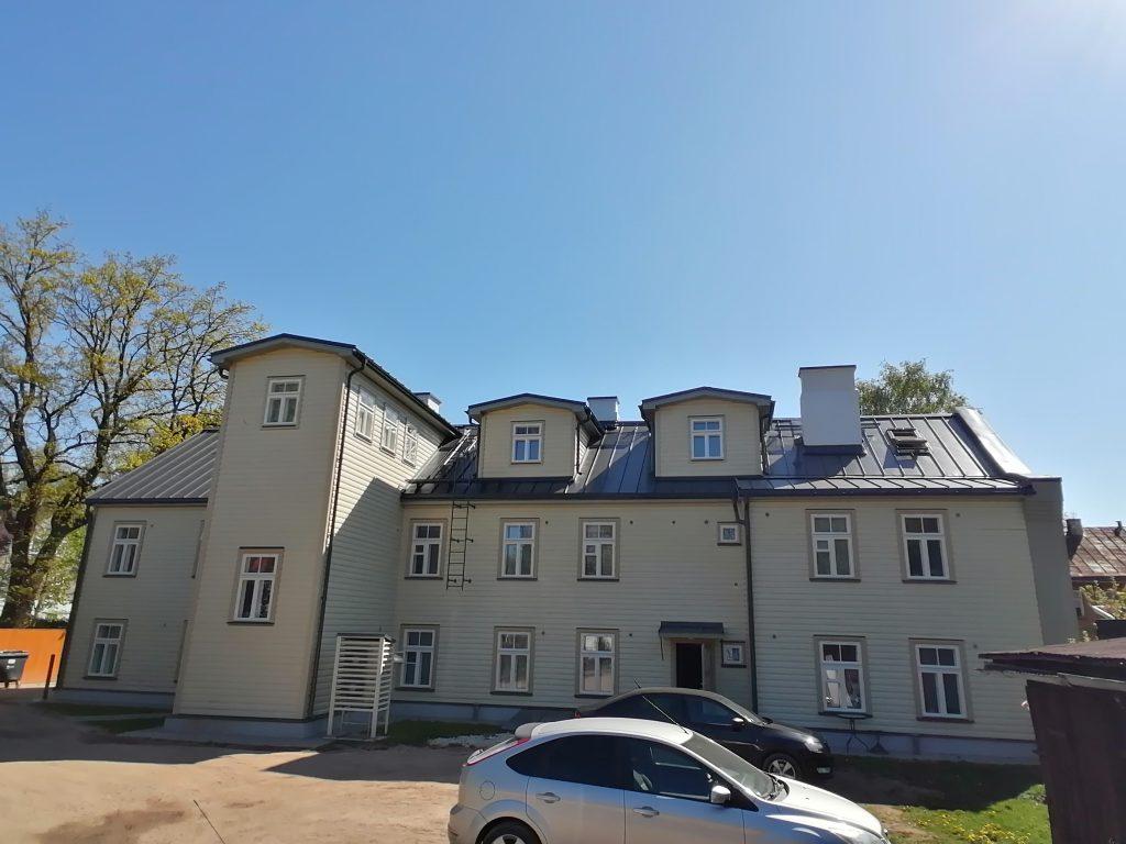 Korterite renoveerimine Tartus, Tartumaal